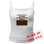 Chocolate Therapy Jr. Spaghetti Tank