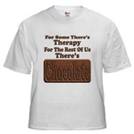 Chocolate Therapy White T-Shirt