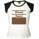 Chocolate Therapy Women's Cap Sleeve T-Shirt