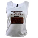 Chocolate Therapy Women's Tank Top