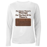 Chocolate Therapy Women's Long Sleeve T-Shirt