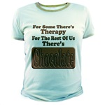 Chocolate Therapy Colored Jr. Ringer T-Shirt