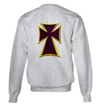 Christian Biker Cross Sweatshirt