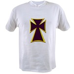 Christian Biker Cross Value T-shirt