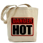 DANGER: HOT! Tote Bag