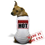 DANGER: HOT! Dog T-Shirt