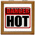 DANGER: HOT! Tile Box