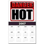 DANGER: HOT! Print Calendar