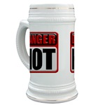 DANGER: HOT! Beer Stein