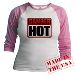 DANGER: HOT! Jr. Raglan