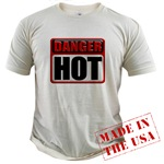 DANGER: HOT! Organic Cotton Tee
