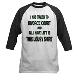 I Was Taken To Divorce Court And All I Have Left Is This Baseball Jersey