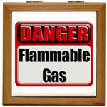 Danger: Flammable Gas Tile Box