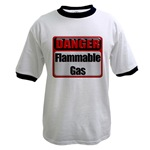 Danger: Flammable Gas Ringer T