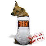 For Rent Sign Dog T-Shirt