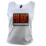 For Rent Sign Women's Tank Top