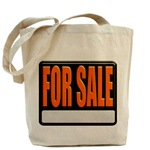 For Sale Sign Tote Bag