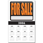 For Sale Sign Calendar Print