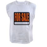 For Sale Sign Men's Sleeveless Tee