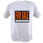 For Sale Sign Value T-shirt