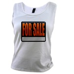 For Sale Sign Women's Tank Top