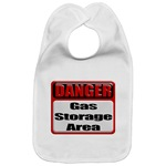 DANGER: Gas Storage Area Industrial 3D Metal Style Warning Caution Sign