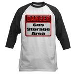 Gas Storage Area Baseball Jersey
