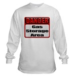Gas Storage Area Long Sleeve T-Shirt