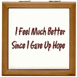I Feel Much Better  Tile Box