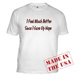 I Feel Much Better  Fitted T-Shirt