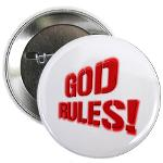 "God Rules! 2.25"" Button"