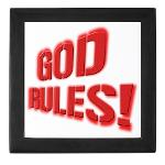 God Rules! Keepsake Box