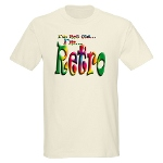 I'm Not Old, I'm Retro Ash Grey T-Shirt