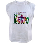 I'm Not Old, I'm Retro Men's Sleeveless Tee