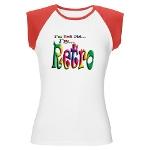 I'm Not Old, I'm Retro Women's Cap Sleeve T-Shirt