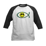 Jesus Is My Happiness Kids Baseball Jersey