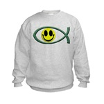 Jesus Is My Happiness Kids Sweatshirt