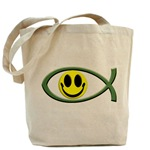 Jesus Is My Happiness Tote Bag
