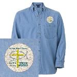 Jesus Therapy Denim Shirt