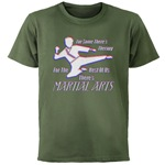 Martial Arts Therapy Dark T-Shirt