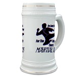 Martial Arts Therapy Beer Stein