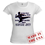 Martial Arts Therapy Jr. Baby Doll T-Shirt