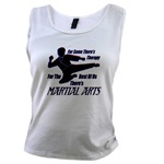Martial Arts Therapy Women's Tank Top