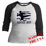 Martial Arts Therapy Jr. Raglan
