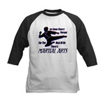 Martial Arts Therapy Kids Baseball Jersey