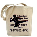 Martial Arts Therapy Tote Bag