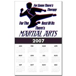 Martial Arts Therapy Calendar Print
