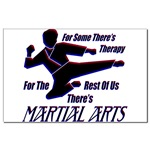 Martial Arts Therapy Mini Poster Print