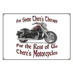 Motorcycle Therapy Banner