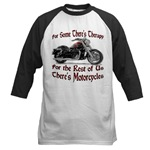 Motorcycle Therapy Baseball Jersey